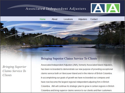 Aia insurance website design image