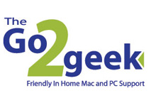The go to geek logo design image