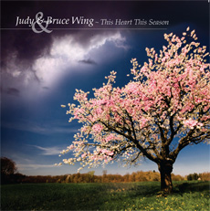 Judy and Bruce wing CD packaging design