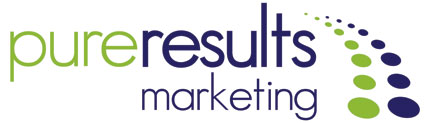 Pure Results Marketing Vancouver logo design