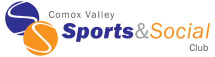 Comox Valley Sports and Social logo design image
