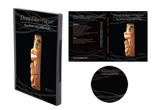 Doug Zilkie DVD cover design packaging